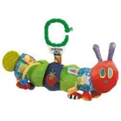 Developmental Caterpillar - The Very Hungry Caterpillar - New Born Baby Gift - Activity Toy for Baby - Baby Gift - Traditional Toy for Baby - Buggy Buddy