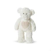 Teddykompaniet - Teddy Bear Soft Toy - White