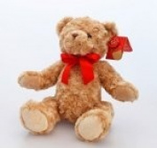 45cm Christmas Traditional Bear with Scarf