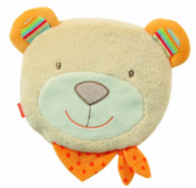 Fehn Bubbly Crew Cherry Stone Cushion with Teddy Cover