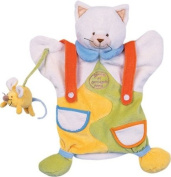 Doudou et Compagnie PUP1625 25cm Cat and Mouse Puppet