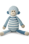 Bellybutton Crochet Monkey