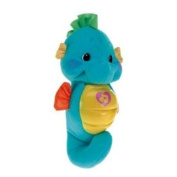 Fisher-Price Soothe and Glow Seahorse Baby Soother - Blue