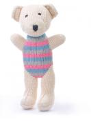 ChunkiChilli Organic Cotton Teddy Toy - White