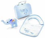 Steiff Steiff«s little circus elephant gift set in suitcase small, Baby Plush