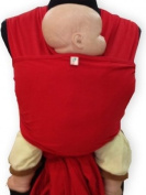 Palm and Pond Stretchy Wrap Sling - Red
