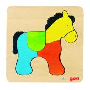 Puzzle, horse