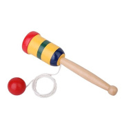 Japanese Wooden Toy Kendama Cup and Ball