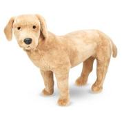 Melissa & Doug Giant Yellow Labrador - Lifelike Stuffed Animal Dog