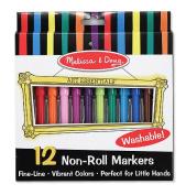 Non-Roll Felt Tip Pens