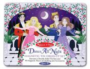 Dance All Night Magnetic Tin Dress-Up Set