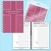 Scripture Notes Bible Study Notebook-Rose
