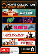 A Night at the Roxbury / EuroTrip (Uncut) / I Love You, Man / Nacho Libre / The Naked Gun  [Region 4]