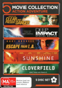 Clear and Present Danger / Cloverfield / Deep Impact / Escape From LA / Sunshine  [Region 4]