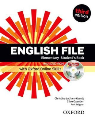 English File third edition: Elementary: Student's Book with iTutor and Online Skills (English File third edition)