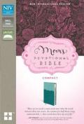 NIV, Mom's Devotional Bible, Compact, Imitation Leather, Turquoise