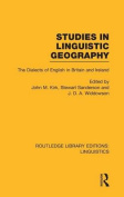 Studies in Linguistic Geography