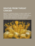 Deaths from Throat Cancer