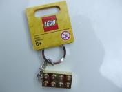 Gold 2 x 4 Stud Key Chain