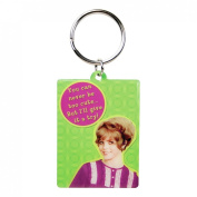 Retro Keyring - You Can Never Be Too Cute, But I'll Give It A Try!