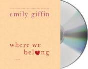 Where We Belong [Audio]