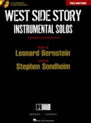 West Side Story Instrumental Solos - Viola/Piano Bkcd