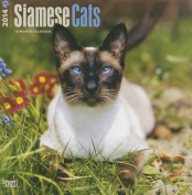 Siamese Cats 2014 Wall Calendar