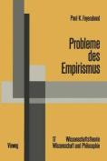 Probleme Des Empirismus  [GER]