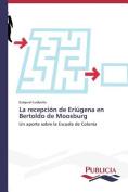 La Recepcion de Eriugena En Bertoldo de Moosburg [Spanish]