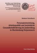 Personalentwicklung, Arbeitsqualitat Und Betriebliche Gesundheitsforderung Im Justizvollzug in Mecklenburg-Vorpommern [GER]