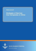 Strategies of German Car Companies in China
