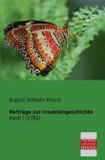 Beitrage Zur Insektengeschichte [GER]