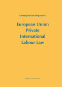 European Union Private International Labour Law