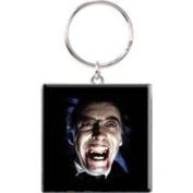 Official Hammer House of Horror Dracula Face Keyring