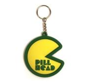 PACMAN PILL HEAD KEYRING - 17430
