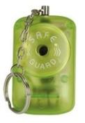 Personal attack keyring alarm