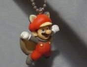 New Super Mario Bros.U Mascot Figure Keychain ~ Mario Musasabi flying squirrel