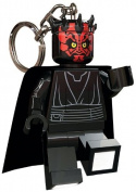Undergroundtoys - Lego Star Wars mini lampe de poche avec chaînette Darth Maul
