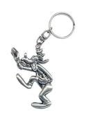 Disney Metal Collectible Keychain - Goofy LG 2D FF Pewter Keyring