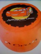 Lightning McQueen Inflatable Pouffe/Stool