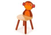 Tidlo wood Monkey Chair, 26 cm