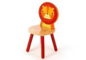 Tidlo wood Lion Chair, 26 cm