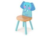 Tidlo wood Elephant chair, 26 cm