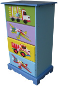 Liberty House Toys 4-Drawer Transport Storage Unit