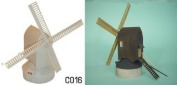 Dapol Model Railway Windmill Plastic Kit - OO Scale 1/76