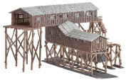 Faller 222205 N Old coal mine Model of a coal mine in wooden construction with various loading and unloading options. Fa