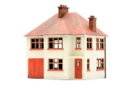 Dapol Model Railway Detached House Plastic Kit - OO Scale 1/76