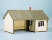 Wills SS60 Country station platform building Area 92 x 60mm