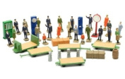 Dapol Model Railway Station Accessories - OO Scale 1/76