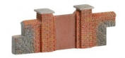 Hornby R8979 Skaledale 00 Gauge Brick Walling - Gates & Piers